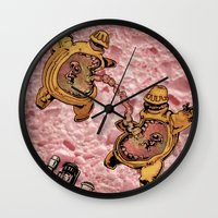 One Thousand Pardons: TummyBuddies: Psychic Warriors Connected by their Bellies Wall Clock