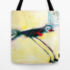SATELLITE OF LOVE Tote Bag