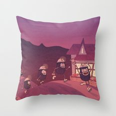 Heigh Ho, Heigh Ho! Throw Pillow