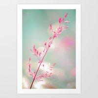 Pink Haze Art Print
