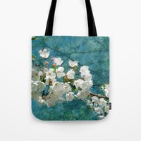 Blossom Textured Tote Bag