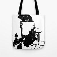 Ink Still Life Tote Bag