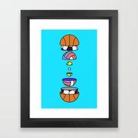 Big Balls Framed Art Print