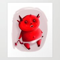 Little Devil Art Print