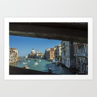 Grand Canal by Day Art Print
