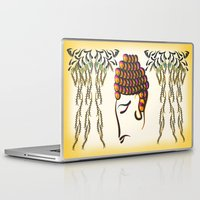 buddha Laptop & iPad Skins featuring Buddha by famenxt