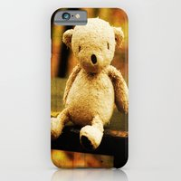 iPhone & iPod Case featuring Taking the weight off my Paws by Palin