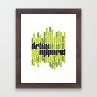 Drivn Apparel, leaves 18x24 Framed Art Print