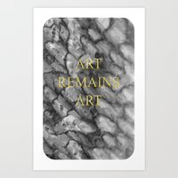 Art Remains Art Art Print