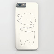 Love Yourself Ele by ilovedoodle iPhone 6 Slim Case