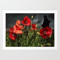 Royal Marine Remembrance Art Print