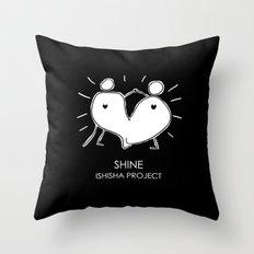SHINE by ISHISHA PROJECT Throw Pillow