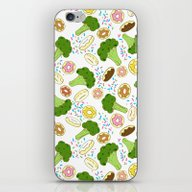 iPhone & iPod Skin featuring A Balanced Diet  by Perrin Le Feuvre