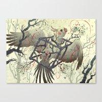 Artificial Habitat Canvas Print