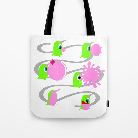 Bubol bubble gum Tote Bag