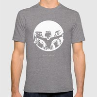 Don't Blink Mens Fitted Tee Tri-Grey SMALL