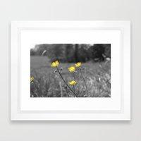 Summers Beauty Framed Art Print