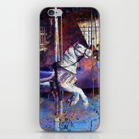 Haunted Halloween Carous… iPhone & iPod Skin