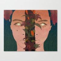 What Lies Beneath Canvas Print