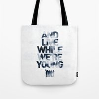 Live While We're Young - 1D Tote Bag