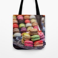 Macarons, Paris Tote Bag