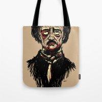 Edgar Allan Poe Zombie Tote Bag