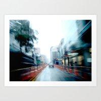 Rain Two Art Print