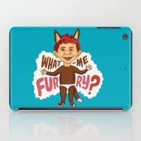 What—me furry? iPad Case
