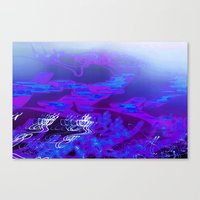 Blurple Canvas Print