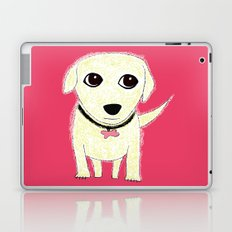 Bichon Bolognese dog Laptop & iPad Skin