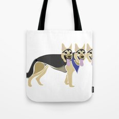 That three headed dog Tote Bag