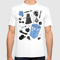 Artifacts: Doctor Who Mens Fitted Tee White SMALL