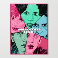 Breakfast Club Colors Canvas Print