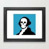 The One Dollar Man Framed Art Print