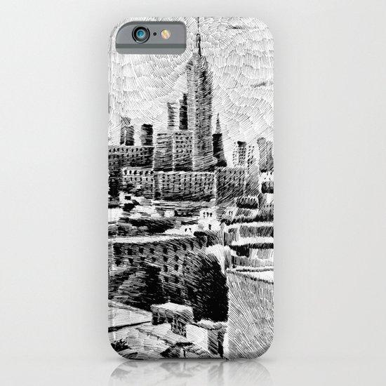 New York City - Fingerprint - Black ink iPhone & iPod Case