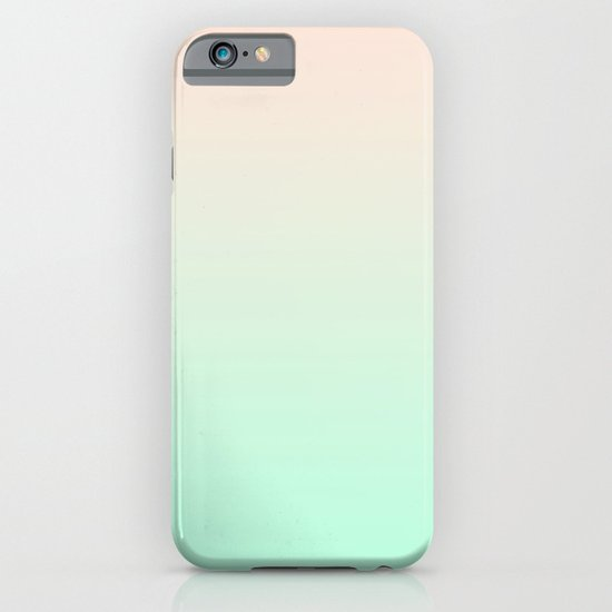 PEACH & MINT FADE iPhone & iPod Case