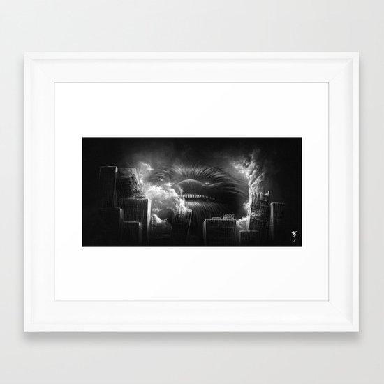 BallWars: Uncontroled Demolition Framed Art Print