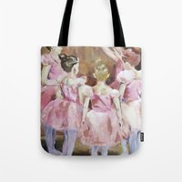Before The Dance - Balle… Tote Bag