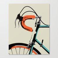Bike Portrait 2 Canvas Print