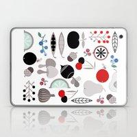 Mushroom Berries Nuts An… Laptop & iPad Skin