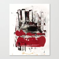Blood And Marrow V2 Canvas Print