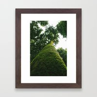 Up Framed Art Print