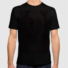 GlamourGa Black SMALL Mens Fitted Tee