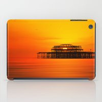 Brighton West Pier At Su… iPad Case