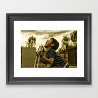 Scream! Framed Art Print