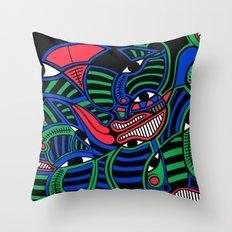 Print #15 Throw Pillow