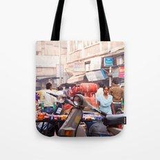 India New Delhi Paharganj 5577 Tote Bag