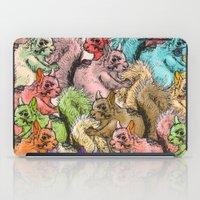 Squirrels Parade iPad Case
