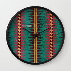 Geo Blanket Wall Clock