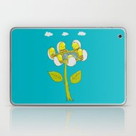 Laptop & iPad Skin featuring Beezzznezz Meeting by Lili Batista